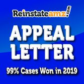 Reinstateamz.com Amazon Appeal letter